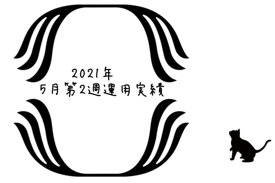 2021年5月第2週運用実績